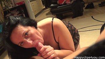 Alisa the erotic mature blowjob, handjob video - part 1.