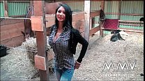 MMV Films KimXXX tiny whore with huge tits fucked