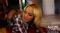 WCPClub blonde black girl with a gorgeous ass fucked by BBC
