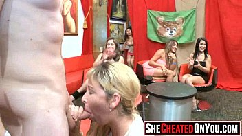 03 Lovely sluts guzzling cum at sex party!27