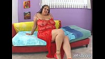 Tattooed plumper Talisa Brown wraps her flab around a cock