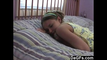 Dagfs - Old Pervert Babysitter Loves To Watch This Young Girl Masturbate