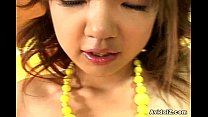 Shaved Japanese Teen gets pussy fucked