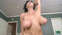Nasty milf Alia Janine take dick in POV style