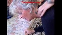 Granny blond Hot  - vecchia bionda molto troia succhia cazzo