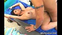 Gorgeous Japanese babe Mika Tan enjoys smutty anal sex 8 min