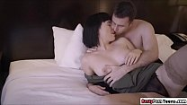 Olive rides her guys dick passionately