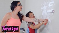 When Girls Play - (Holly Hendrix, Alissa Jayde) - Paint  Pussy - Twistys