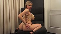 Slut in Pigtails Gets Double Penetrated