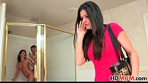 Hope Howell invites her Mom India Summer to fuck BF