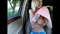Perfect natural tits. Sexy blonde camgirl titties - HotFallingDevil.com