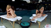 GIRLS GONE WILD - Young Sorority Sisters Massage Turns Into Hot Orgy