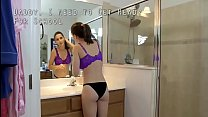 Molly Jane in Sex in the school restroom 18 years fucked back and forth
