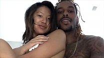 Interracial Deepthroat and Pussy Fuck (Cash&Layla Amateur Films Part.2)