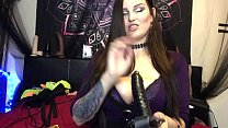 Camgirl Vlog #4 My BDSM Sex Toys Collection Tattooed Big Boobs BBW Mistress