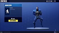 Sexy compilation of fortnite characters naked and dancing with vbucks thrown on