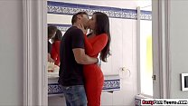Spanish babe Nekane giving hot tit fuck
