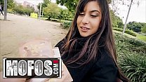 Slutty Teen (Anya Krey) Ass Fucked Out In Public For Some Extra Money - MOFOS