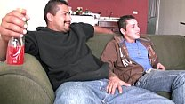 Hot straight latino guys suck each other big uncut verga and fuck raw
