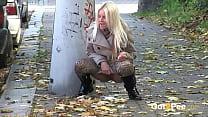 Pissing On The Sidewalk
