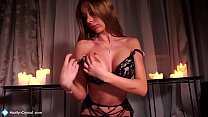 Hot Student in Lingerie Sensual Suck Dick and Cowgirl Fucking