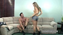 Cute coed Bailey Blue gets her tight teen twat pounded