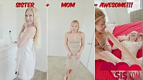 Emma Starletto Gets Threesome With Stepbro and MOM
