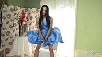 Chloe Lovette - windy skirt blue