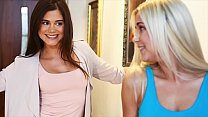 Hot Lesbian Piss Session With Little Caprice And Dido Angel
