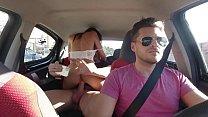 Having sex with pretty latina on the Uber (Baby Nicols)