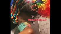 Fucking Jasamine Banks hard in girls bathroom