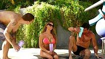 Rachel Roxx Dealing With Two Studs