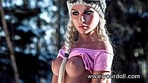 Yourdoll HOT blonde busty sex doll, blowjob anal deepthroat fantasies