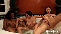 Celeste Star Missy Martinez & Nyomi Banxxx Have A Lesbian Threesome Before A Wedding
