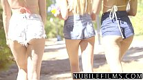 NubileFilms - Playful Coeds Have Intense Lesbian Threesome