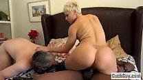 Helena Locke turns her husband into cum eating cuckold