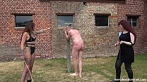Friendly Competition - Mistress Rebekka Raynor & Nikky French and Painful Strokes