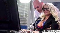 (julie cash) Sexy Girl With Big Boobs Banged In Office movie-16