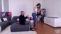 DDF Network - Salesgirl Gets Her Ass And Pussy Stuffed In Store