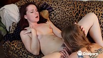AnnaBelle Lee Spreads Her Legs So Ela Darling Can Put Her Tongue Inside Her