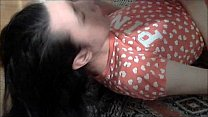 Femboy cum in his mouth