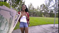 Ebony big ass teen Haylee Wynters gets interracial fucked