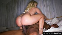 BLACKEDRAW Boyfriend with cuckold fantasy shares his blonde girlfriend