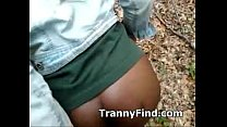 tranny outdoors