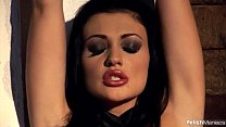 The Young & Stunning Aletta Ocean Pisses while Bound
