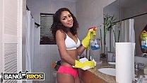 BANGBROS - Young Teen Latina Maid Nicole Bexley Gets Down and Dirty