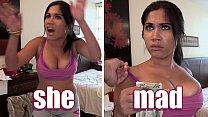 BANGBROS - Cuban Maid With Big Ass And Big Attitude Assuaged By Money