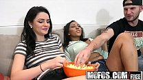 Mofos - Real Slut Party - Big Tits Big Booty Foursome starring Kacey Quinn and Priya Price