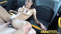 Fake Taxi Petite ebony with big tits works drives cock for cum