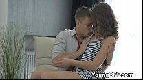 Threesome With Awesome Fabulous Euro Teens